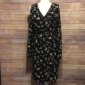 Ralph Lauren Cold Shoulder Dress - Size 10